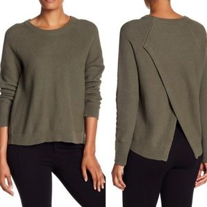 Madewell Cross Back Province Pullover